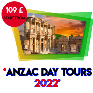 9 Days Anzac Day Tours 2021