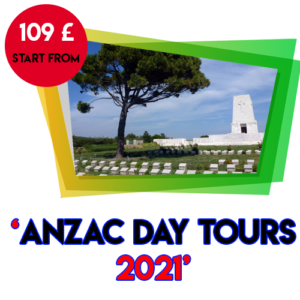 8 Days Bravo Anzac Day Tours 2022
